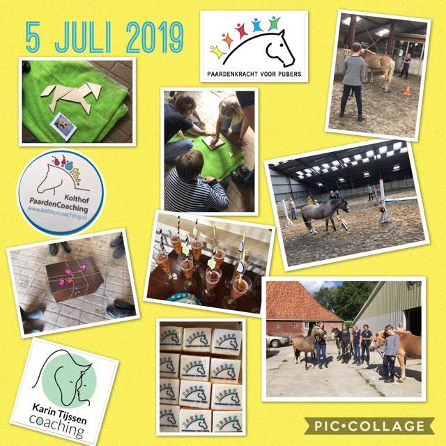 Collage Karin Tijssen coaching 5 juli 2019